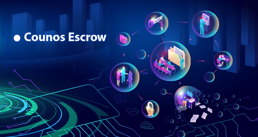 Another form of Counos transactions take place in Counos Escrow. Counos Escrow is a financial cryptocurrency system wherein a trusted third party holds onto the payment of a transaction between two parties