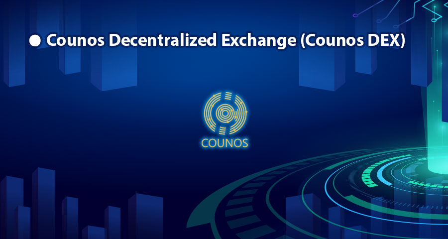 Another form of Counos transactions that are very common are the transaction of Counos Decentralized Exchange or Counos DEX.