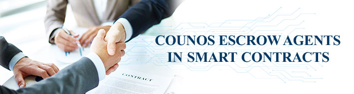COUNOS ESCROW AGENTS IN SMART CONTRACTS