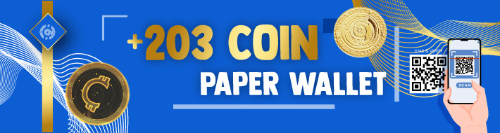 Counos Paper Wallet Generator Supports 203 Coins