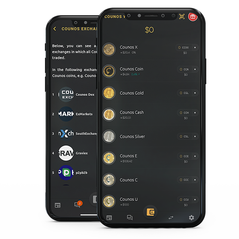 counos wallet last version 192 for all user