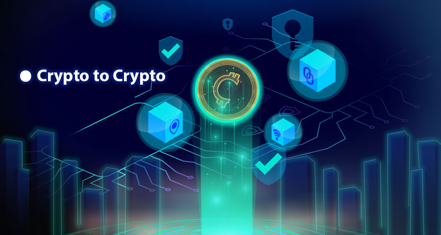 Another type of Counos transactions that usually take place in Counos DEX is the exchange between cryptocurrency and cryptocurrency.