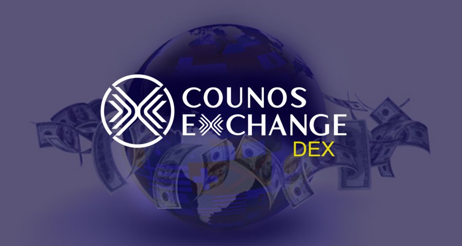 You can use Counos DEX to transfer money from anywhere in the world to any place in the world day and night.