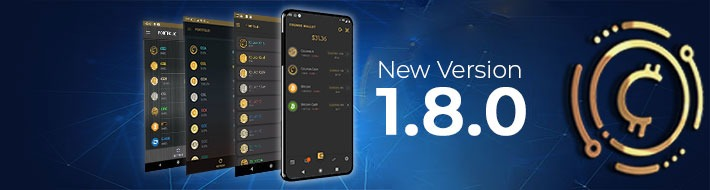 Counos Wallet New version 1.8.0